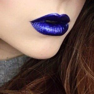 "NIB MAC ""BLUE BEAT"" Liptensity Lipstick"